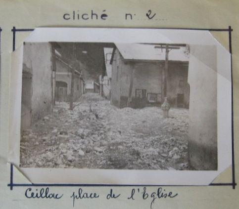 Souvenirs dans le Queyras, les inondations de1957 dans Autrefois ceillac