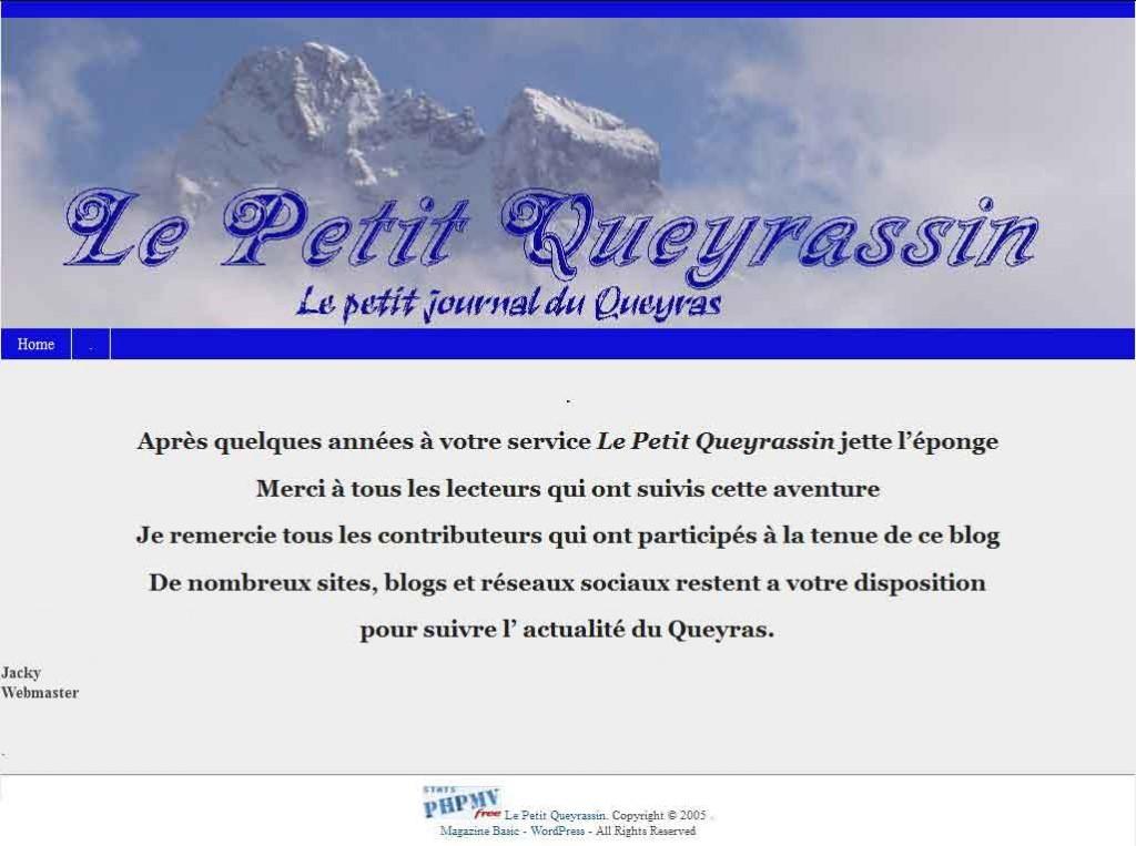 Un blog s'est arrêté dans le Queyras dans Vie locale lepetitqueyrassin
