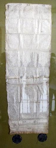 La charte des libertés briançonnaises a créé la République des Escartons en 1343 dans Autrefois 1106_charte1