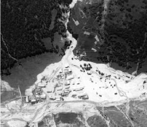 La crue de 1957 dans le Queyras dans Autrefois ristolas-300x260